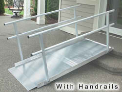 aluminum modular wheelchair ramps