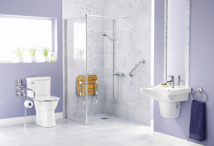 Bathroom Remodels For Aging Wheelchair Accessible In North Central Il