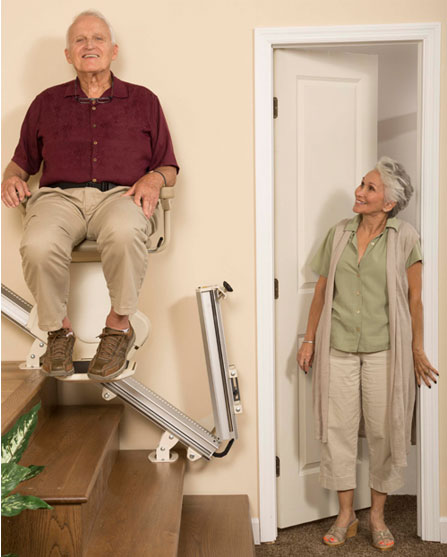 Stair Lifts in action!